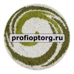 Коврик SHAGGY из 1- шт D100см (зеленый) (1/20)