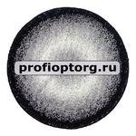 Коврик SHAGGY из 1- шт D140см (черный) (1/12)