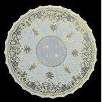Салфетка в/р Dia Lace арт.503 GMR 40*40см бел (1/50)
