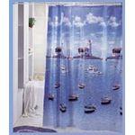 923 Шторы для ванн ПВХ 180х180см(1/24)