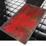 Коврик для в/к BANYOLIN CLASSIC COLOR из 1 шт 55х90см Роза 11 мм (красный) 1/40