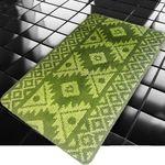 Коврик для в/к BANYOLIN CLASSIC COLOR из 1 шт 60х100см Орнамент11 мм (зеленый) 1/40