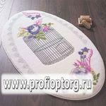 Коврик для в/к CONFETTI BELLA из 1 шт 66х107см FLOWER CAGE  (пурпурный)