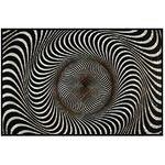 Коврик придверный ПВХ PIN-MAT HOMEMAT FOTOPRINT 40х60см #01 Абстракция Зебра 1/20