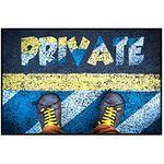 Коврик придверный ПВХ PIN-MAT HOMEMAT FOTOPRINT 40х60см #04 Приват Кеды 1/20