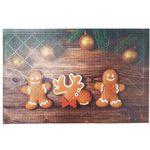 Коврик придверный ПВХ PIN-MAT HOMEMAT FOTOPRINT 40х60см #07 Новый год 1/20