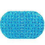 Spa-коврик д/ванны AQUA-PRIME 66х37см Золушка (голубой) 1/24
