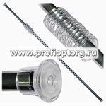 Карниз телескоп. для в/к AQUA-PRIME 110-210см металлик (1/30)