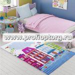 Коврик CONFETTI KIDS из 1 шт 100х150см SWEET HOME  (розовый)