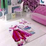 Коврик CONFETTI KIDS из 1 шт 133х190см RUGS LADY DRESS  (розовый)