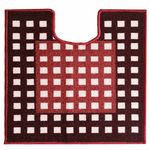 Коврик CONFETTI TAFTING из 1 шт 57х60см (U) №26 (красно-коричневый)