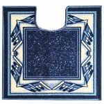 Коврик CONFETTI TAFTING из 1 шт 57х60см (U) №42 (синий)