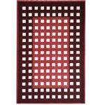 Коврик CONFETTI TAFTING из 1 шт 57х90см №26 (красно-коричневый)