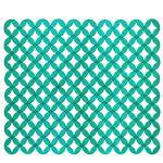 Коврик для раковины AQUA-PRIME Кружки 31х25см (зеленый) 1/80
