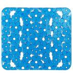 Коврик для раковины AQUA-PRIME Ромашка 31х25см (синий) 1/60