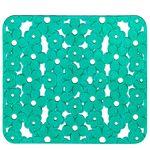 Коврик для раковины AQUA-PRIME Ромашка 31х25см (зеленый) 1/60