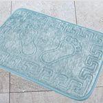 Коврик для в/к AQUA-PRIME FOOT из 1 шт 40х60см (голубой) 1/70