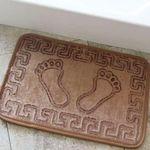 Коврик для в/к AQUA-PRIME FOOT из 1 шт 40х60см (коричневый) 1/70