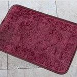 Коврик для в/к AQUA-PRIME FOOT из 1 шт 40х60см (вишневый) 1/70
