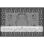 Коврик придверный резиновый PIN-MAT БМ 40х60см Амфора 1/20