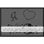 Коврик придверный резиновый PIN-MAT БМ 40х60см Футбол 1/25