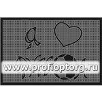 Коврик придверный резиновый PIN-MAT БМ 45х75см Футбол 1/15