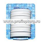 Набор пластиковых колец для штор в ванную AQUA-PRIME 12шт белый (1/60)
