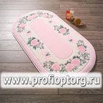 Коврик для в/к CONFETTI BELLA из 1 шт 57х100см ROSE FRAME  (розовый)