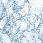 """Пленка самоклеющаяся  """"DELUX"""" 45смх8м (мрамор голубой-2) 1/24"""