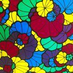 """Пленка самоклеющаяся  """"DELUX"""" 45смх8м (витражная цветная-2) 1/24"""