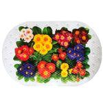 Spa-коврик д/ванны AQUA-PRIME Crystal 68х38см Цветы 1/24
