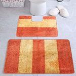 Комплект ковриков для в/к AQUA-Prime Be'Maks Multi из 2 шт 60х100/60х50см 505 18мм (оранж) 1/18