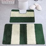 Комплект ковриков для в/к AQUA-Prime Be'Maks Multi из 2 шт 60х100/60х50см 536 18мм (зел) 1/18
