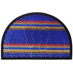 Коврик п/д комбинированный HOMEMAT DETAIN Мультиколор из 1 шт 45х75см полукруг (синий) 1/30