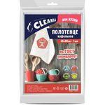 Полотенце вафельное CLEANIA 45*80см CLE084 (1/80)