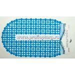 Spa-коврик д/ванной AQP 69*39 Сеточка синий 8 (1/30)