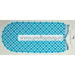 Spa-коврик д/ванны AQUA-PRIME 88х38см Кружевной (синий) 1/30