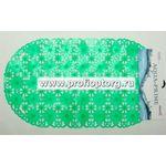 Spa-коврик д/ванны AQUA-PRIME 69х39см Ромашка (светло-зеленый) 1/30