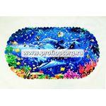 Spa-коврик д/ванны AQUA-PRIME 67х36см Дельфины 1/50